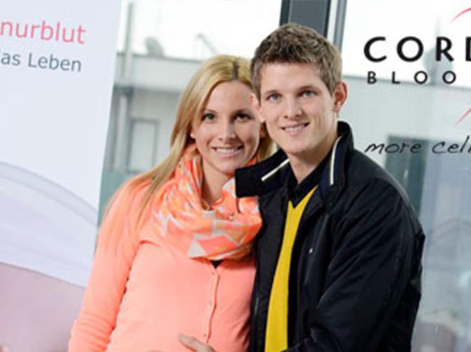 Thomas Morgenstern und seine Freundin Kristina Cerncic