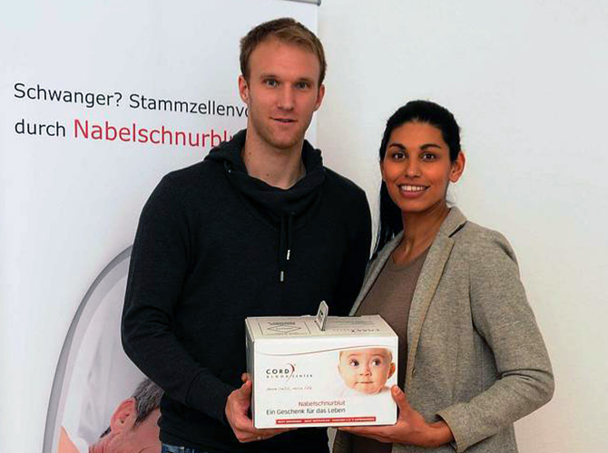 Robert Almer und Dominique Nadarajah